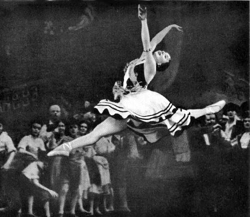 Don Quixote. 1950. Ballerina Natalia Dudinskaya