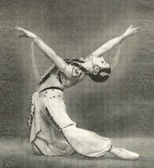 La Bayadere. Nikia. Ballerina Natalia Dudinskaya