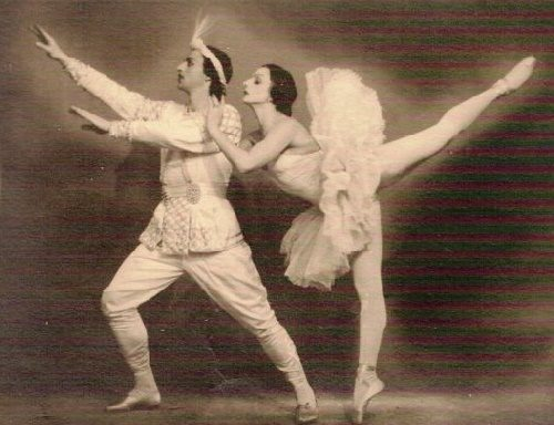 Semyon Kaplan and Natalia Dudinskaya. La Bayadere