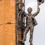 Kharkov Monument to chimney-sweep in Kharkov