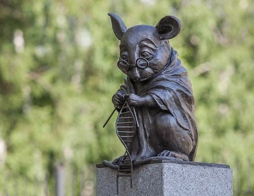 Monument to laboratory mice