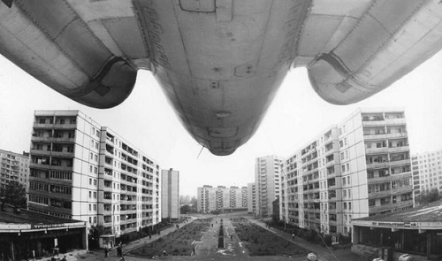 Tu-104 monument in Rybinsk