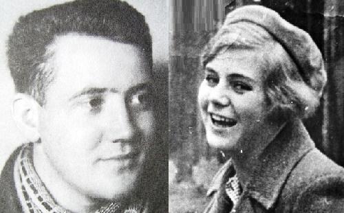 Vera and her fiancé, Yuri Dvuzhilny