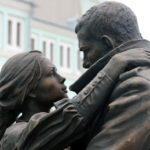 Fragment of Farewell of Slavianka monument