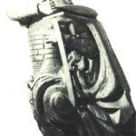 Russian ship sculpture