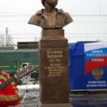 Russian-American engineer Vladimir Zworykin monument