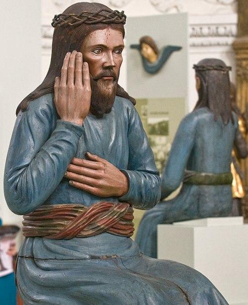 Sitting in prison Savior from the village of Ust-Kosva (XVIII century)