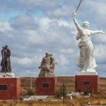 Eastern Europe Monuments Park in Manchuria