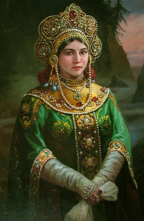 Mistress of Copper Mountain, artist Andrey Shishkin