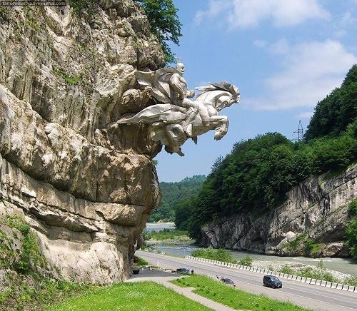 Uastyrdzhi unique rock monument in North Ossetia