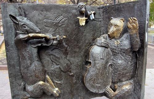 Bronze quartet