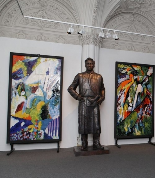 Exhibition in Russian Academy of Arts