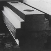 Malevich coffin-architecton designed by Nikolai Suetin