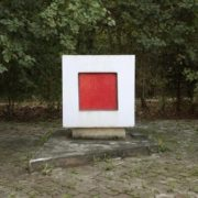 Monument at the burial site of Malevich