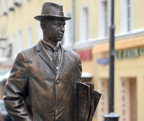 Monument to Sergei Prokofiev (23 April 1891 – 5 March 1953) - Russian and Soviet composer, pianist and conductor