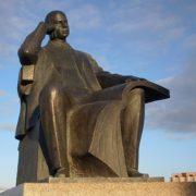 Monument to Sergey Prokofiev in Chelyabinsk