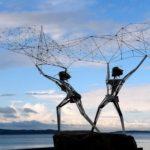 Fishermen monuments reveal stories