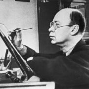 Sergei Prokofiev (23 April 1891 – 5 March 1953) - Russian and Soviet composer, pianist and conductor