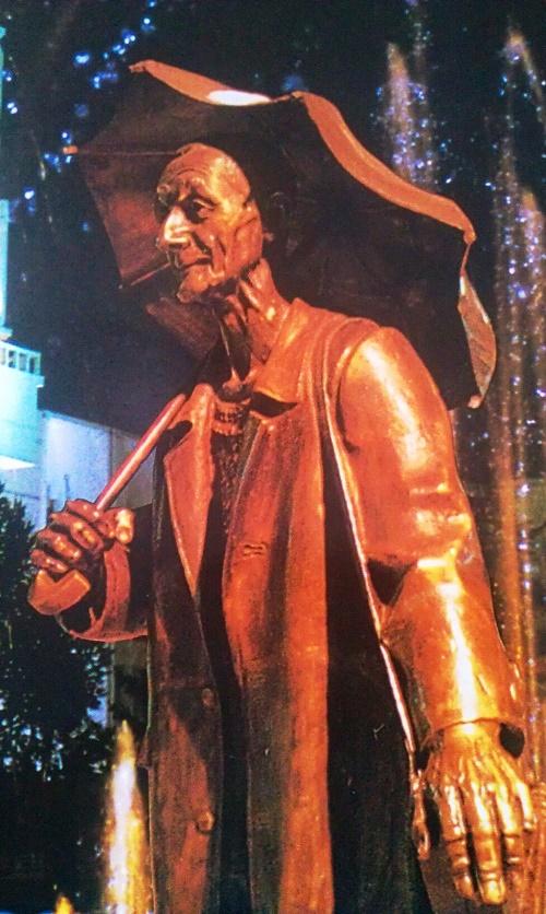 Monument to Andrey Pozdeyev in Krasnoyarsk