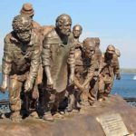 Barge Haulers on the Volga monument in Samara