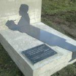 Shadow of Mystic writer Bulgakov unique monument