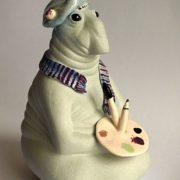 Porcelain Miniature Zhdun-artist