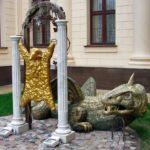 Legendary Golden Fleece monument