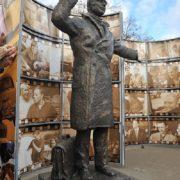 Yuri Detochkin monument, opening ceremony