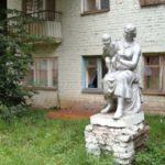 Black Swans monument in Kuzbass