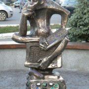 Monkey, Internet user monument in Samara