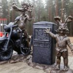 Stories behind hare monuments worldwide