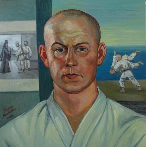 Portrait of Vasili Oshchepkov