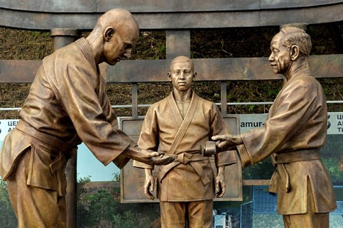 Sambo founder Vasili Oshchepkov monument