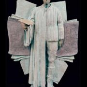 This is how sculptor Zurab Tsereteli sees Joseph Brodsky. Farewell, Joseph Brodsky. Bas-relief