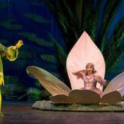 Thumbelina. Scene from the performance