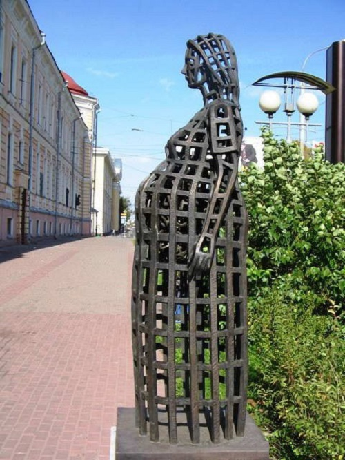 Tomsk, monument to future mother