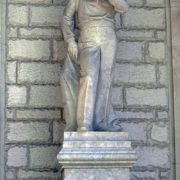 Ufa monument to Chaliapin. June 12, 2007. Sculptor Rustem Khasanov