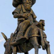 Also Nasreddin Khoja, one of monuments installed in Turkey