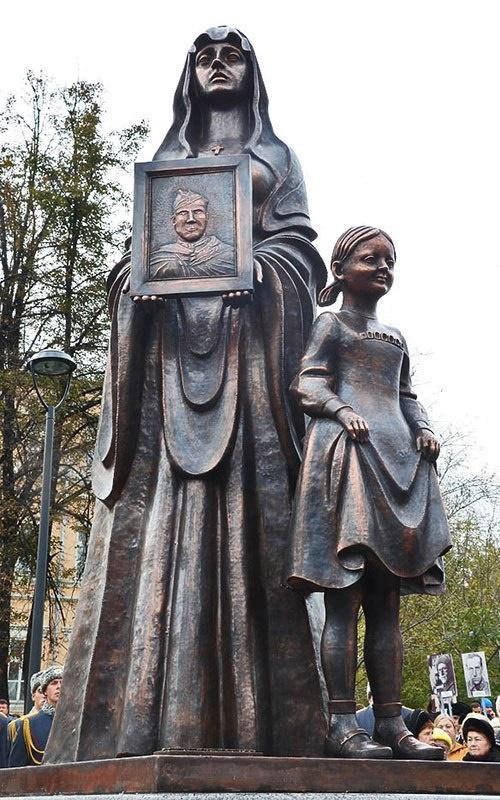Bauman district people's militia monument
