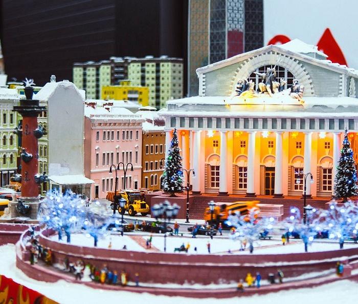 Bolshoi Theater, miniature copy