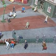 Figures of people. Gulliver's gate
