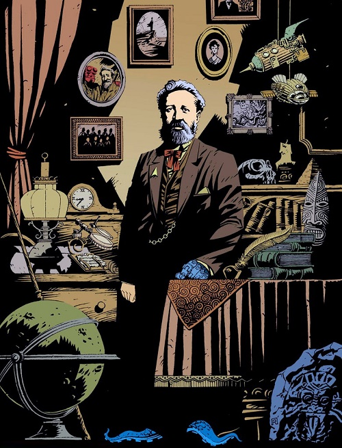 French writer Jules Verne