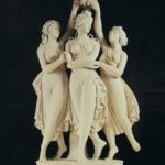 Three Graces monuments and sculptural compositions