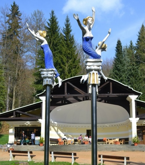 In Marianske Lazne, Czech Republic