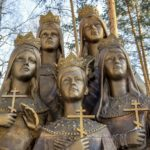 Monument to the children of Russian Tsar Nicholas II