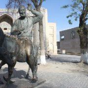 Native of Bukhara, Nasreddin Hodja