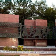 Tashkent, Monumental complex dedicated to 1966 earthquake