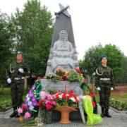 The monument to Matryona Yakovleva
