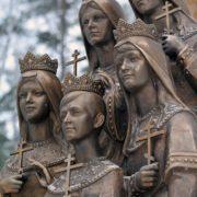 The royal children - Princesses Olga, Tatiana, Maria, Anastasia and Prince Alexei