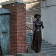 Vladivostok, The monument to Eleanor Lord Pray